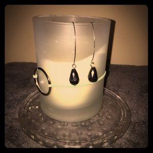 Jewelry - Black silhouette earrings